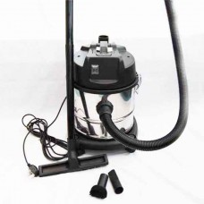 Cylinder vac stainless steel wet and dry nine litre 1200W motor