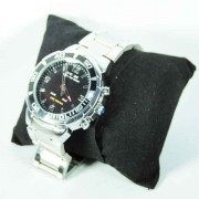Stainless Steel Analog Digital Quartz Wrist Watch