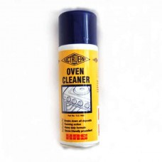 Oven and kitchen surface cleaner aerosol