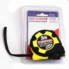 Contractors tape measure 5M - Duratool | Electricspare