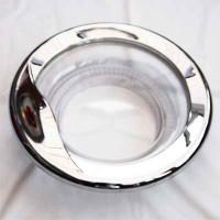 White Knight tumble dryer door chrome 421309255591